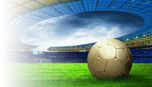 Ball on the Olimpic stadium field
