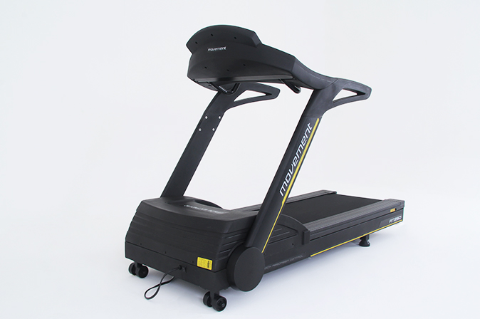 Treadmill RT150 Movement (Frontal). Fitness equipment supplier Tecnosports