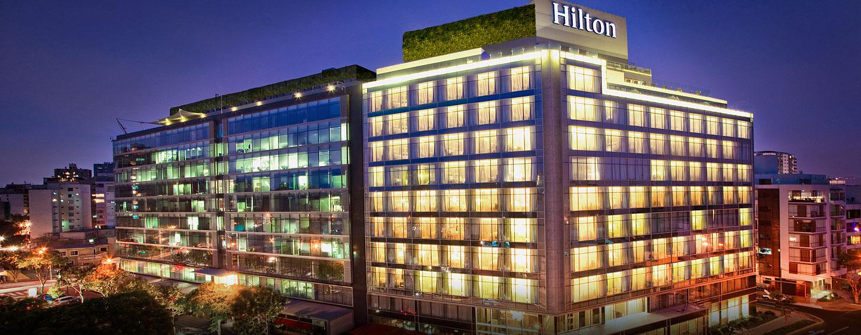 Fitness Center del Hilton Lima Miraflores de Perú equipado con PRECOR. Distribuidor TECNOSPORTS